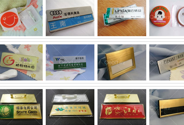 胸牌姓名牌制作